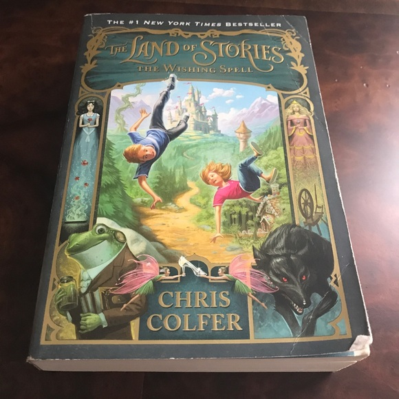 Chris Colfer Other - The Land of Stories Book